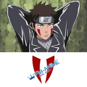 Naruto Kiba Inuzuka Cosplay Tattoo Stickers