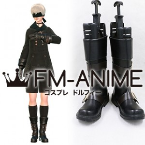 Nier: Automata 9S YoRHa No.9 Type S Cosplay Shoes Boots