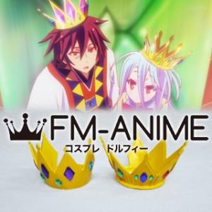 [Display] No Game No Life Sora & Shiro Crown Cosplay