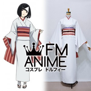 Noragami Nora White Kimono Cosplay Costume