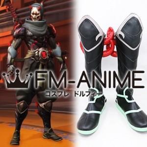 Overwatch Genji Oni Skin Cosplay Shoes Boots