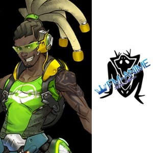 Overwatch Lucio Frog Cosplay Tattoo Stickers