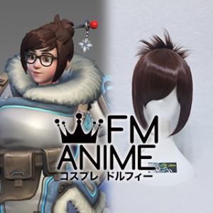 Overwatch Mei Cosplay Wig