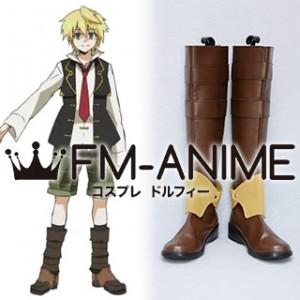 Pandora Hearts Oz Vessalius Cosplay Shoes Boots (Foot length 25.5cm)