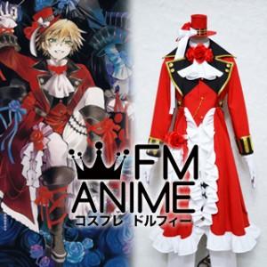 Pandora Hearts Oz Vessalius Red Cosplay Costume