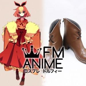 Pokemon Flareon Gijinka Human version / Personified Cosplay Shoes Boots