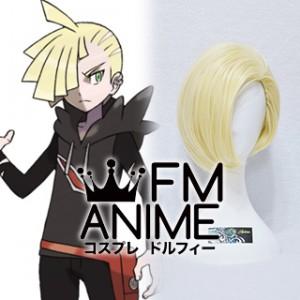 Pokemon Sun and Moon Gladion Cosplay Wig