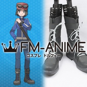 Pokemon X and Y Calem Cosplay Shoes Boots