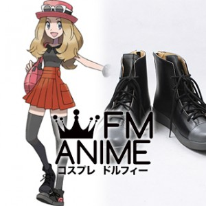 Pokemon X and Y Serena Cosplay Shoes Boots