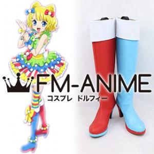 PriPara Mirei Minami Candy Alamode Cyalume Cosplay Shoes Boots