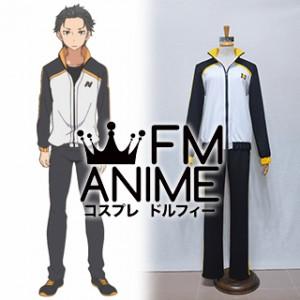Re:ZERO -Starting Life in Another World- Subaru Natsuki Cosplay Costume (Female M)