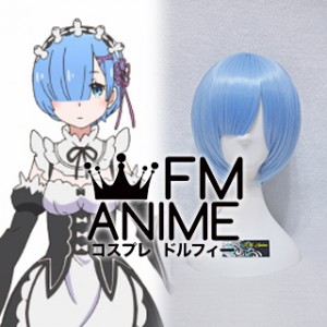 Re:ZERO -Starting Life in Another World- Rem Cosplay Wig