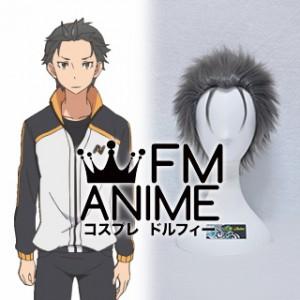 Re:ZERO -Starting Life in Another World- Subaru Natsuki Cosplay Wig