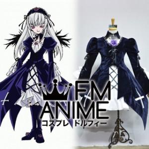 Rozen Maiden Suigintou Lolita Dress Cosplay Costume