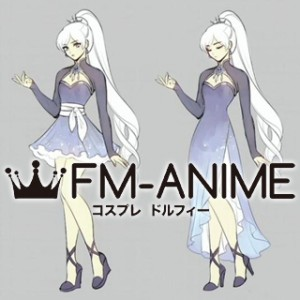 RWBY Volume 4 Weiss Schnee Dress Cosplay Costume & Accessories & Shoes