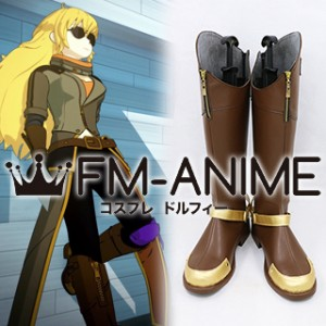 RWBY Volume 4 Yang Xiao Long Finale Cosplay Shoes Boots