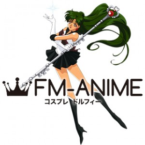 Sailor Moon Setsuna Meioh (Sailor Pluto) Cosplay Costume