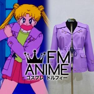 Sailor Moon Usagi Tsukino Purple Jacket Cosplay Costume