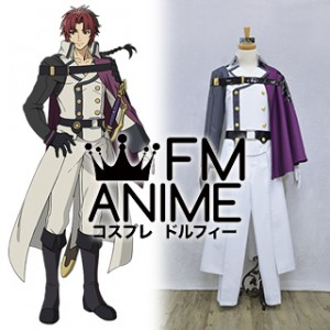 Seraph of the End Crowley Eusford Cosplay Costume (XXL)