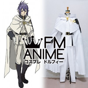 Seraph of the End Lacus Welt Military Uniform Cosplay Costume