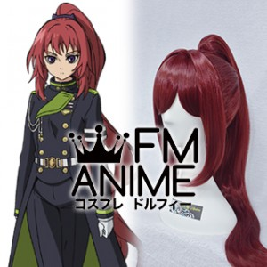 Seraph of the End Mito Jujo Cosplay Wig