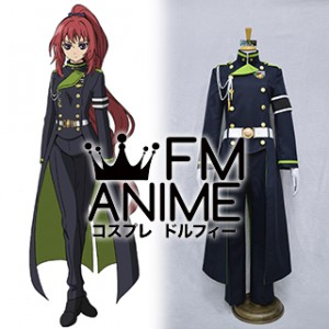 Seraph of the End Mito Jujo Military Uniform Cosplay Costume