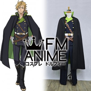 Seraph of the End Norito Goshi Military Uniform Cosplay Costume