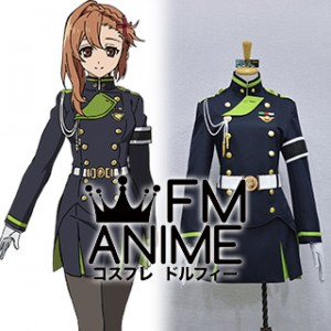 Seraph of the End Sayuri Hanayori Military Uniform Cosplay Costume