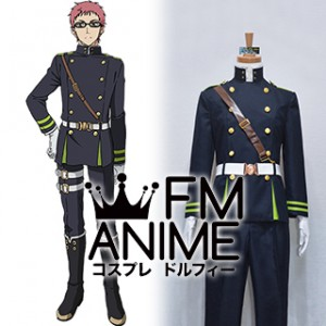 Seraph of the End Shiho Kimizuki Military Uniform Cosplay Costume