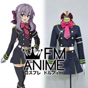 Seraph of the End Shinoa Hiragi Military Uniform Cosplay Costume