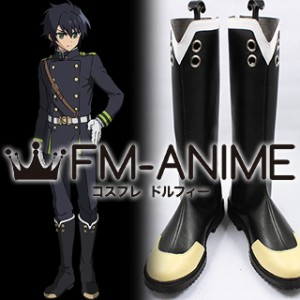 Seraph of the End Yuichiro Hyakuya / Shinoa Hiragi / Mitsuba Sangu Cosplay Shoes Boots