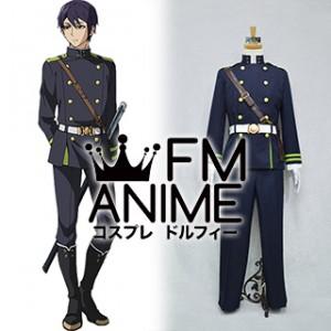Seraph of the End Shusaku Iwasaki Military Uniform Cosplay Costume