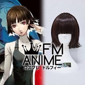 Shin Megami Tensei: Persona 5 Makoto Niijima Cosplay Wig