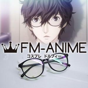 Shin Megami Tensei: Persona 5 Protagonist Akira Kurusu Black Glasses Cosplay
