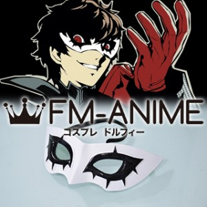 Shin Megami Tensei: Persona 5 Protagonist Akira Kurusu Phantom Thief Mask Cosplay Accessories