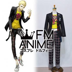 Shin Megami Tensei: Persona 5 Ryuji Sakamoto Uniform Cosplay Costume
