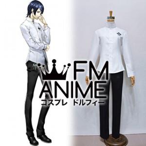 Shin Megami Tensei: Persona 5 Yusuke Kitagawa Uniform Cosplay Costume (Female M)