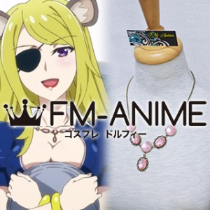 Show by Rock!! Angelica Metal Necklace Cosplay Accessories
