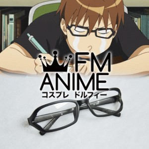 [Display] Silver Spoon Yugo Hachiken Black Glasses Cosplay