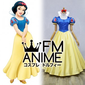 Snow White and the Seven Dwarfs (Disney) Snow White Cosplay Costume (Female M)