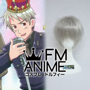 Axis Powers Hetalia Gilbert Beilschmidt (Prussia) Cosplay Wig
