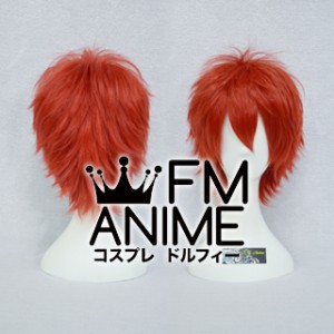 Short Spike Style Red Cosplay Wig #D0309