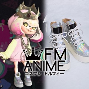 Splatoon 2: Octo Expansion Pearl Hime Cosplay Shoes