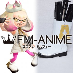 Splatoon Pearl Hime Cosplay Shoes Boots