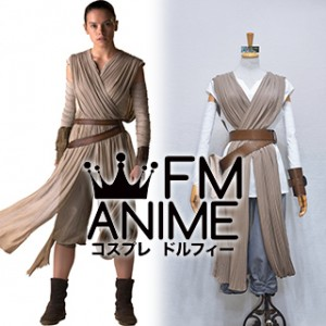 Star Wars: Episode VII The Force Awakens Rey Cosplay Costume