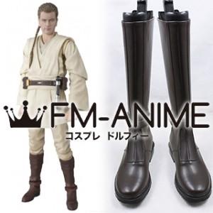 Star Wars Kylo Ren Dark Brown Cosplay Shoes Boots