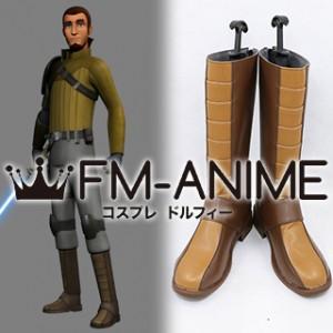 Star Wars Rebels Kanan Jarrus Cosplay Shoes Boots