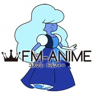 Steven Universe Sapphire Dress Cosplay Costume