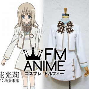Strawberry Panic Hikari Konohana Female Uniform Cosplay Costume