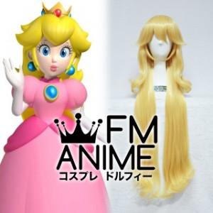 Super Mario (series) Princess Peach Cosplay Wig